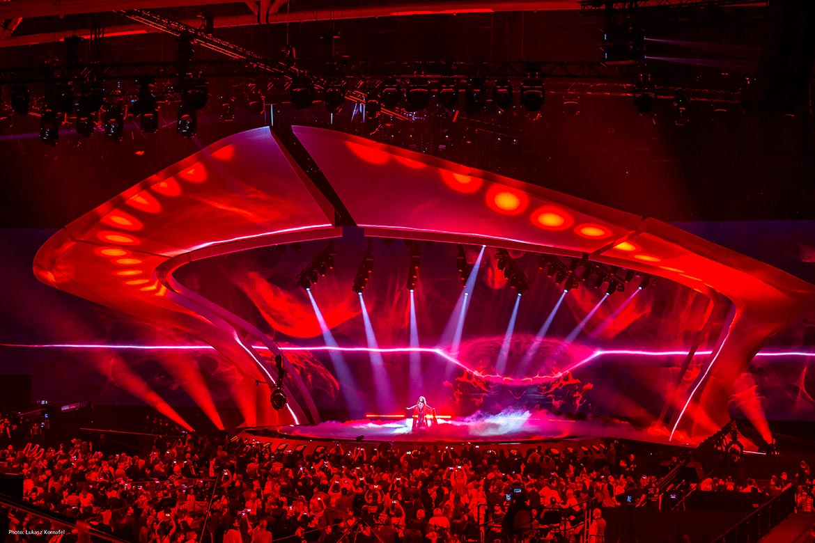 The Eurovision Song Contest 2017 arena