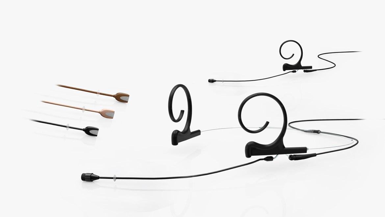 Flex Omnidirectional Headset and Earset Microphone